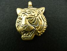 24K Gold Plated Tiger Charm Pendant - W/O Necklace