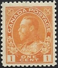 Canada  # 105  King George V Admiral Issue   Brand New 1922 Original Gum      02