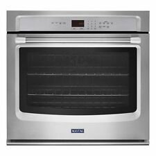 Maytag MEW9527DS, 27-inch Wide Single Wall Oven with Convection in Stainless