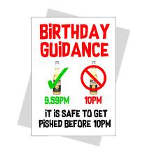 FUNNY birthday card guidance corona curfew boris friend brother sister mum dad