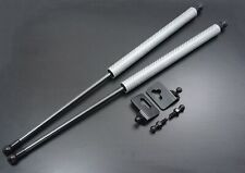 Fit Toyota Supra MK4 JZA80 2JZ 92-02 SILVER CARBON REAR Trunk Lift Support Kit