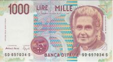 ITALY BANKNOTE P#114b 1000 1,000 1.000 LIRE 1990, UNC
