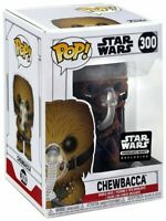 Chewbacca With Mask #300 Smugglers Bounty Funko Pop Vinyl New in Box + Protector