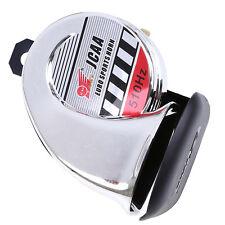 Universal Powerful Motocross Bike Air Horn Tone 510Hz 12V Motorcycle Loud Silver