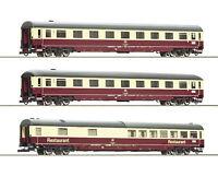 """Roco H0 74096 Autoreisezugwagen-Set 2 """"Christoforus-Express"""" der DB - NEU + OVP"""
