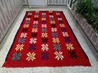 Vintage Moroccan Handmade Rug Azilal Rug Beni Ourain Berber Wool Carpet