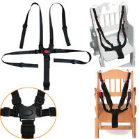 5 Point Baby Infant Safe Belt Strap Harness For Stroller High Chair Pram Buggy