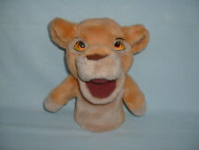 THE LION KING SIMBA Cuddly Soft Hand Glove Puppet Plush Toy (DISNEY/STORE/GUARD)