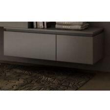 Complément moderne 100x32x45 commode mobile Avon blanc gris chêne 1