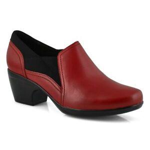 Womens Clarks Emily Amelia 261549164060 Red Size 10