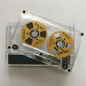 Teac Audio Tape New Blank Gold Reels Color Cassette Reel to Reel