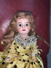 Antique 11� Bisque Girl Doll Made In Germany