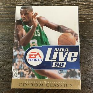 EA Sports NBA Live 99 CD ROM Classics NBA Basketball - New and Sealed.