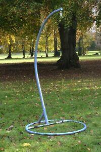 Garden Hanging Chair Hammocks Swing Egg Chair Pole Frame Stand Grey