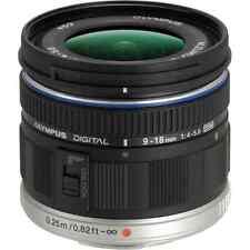 Olympus M.Zuiko Digital ED 9-18mm f/4-5.6 Lens - Black