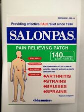 Salonpas Pain Relieving Patch 280 Patches 7.2 X 4.6cm Hisamitsu Japan 2019 Exp