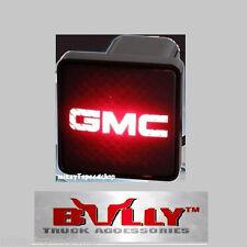 "GMC HITCH COVER 2"" inch RECEIVER box plug trailer 3RD BRAKE tail LIGHT draw bar"