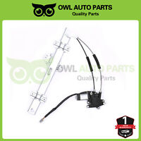 Power Window Regulator w/ Motor Front Left Driver For 94-97 Honda Accord 4 Door