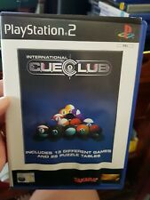 International Cue Club (no booklet) - PLAYSTATION 2 PS2 - FREE POST