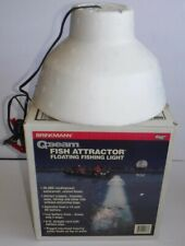 Vintage Brinkmann Q-Beam Fish Attractor Floating 12 Volt Fishing Light