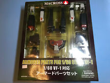 YAMATO Armored Parts for 1:60 1/60 Scale Vf-1 Macross Valkily Set NEW