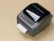 USED Zebra GK420d Label Thermal Printer Barcode Shipping Label NO INK NEEDED 872