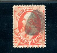 USAstamps Used XF US 1870 National Bank Note Printing Scott 149