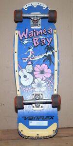 Vintage Variflex Waimea Bay skateboard collectible display skate board