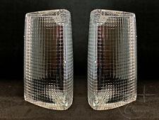 1972 Lincoln Mark IV Park Lamp (Turn Signal) Lens PAIR (D2LY13208A D2LY13209A)
