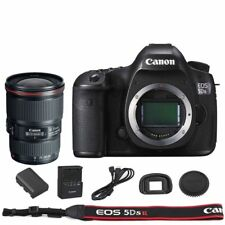 Canon EOS 5DSR / 5DS R DSLR Camera Body with EF 16-35mm f/4L IS USM Lens