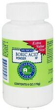 Boric Acid Powder NF 6 Ounces Humco