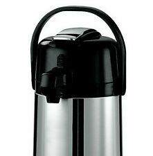 22 Liter Airpot Hot Coffee Server Carafe Beverage Dispenser Stainless Steel