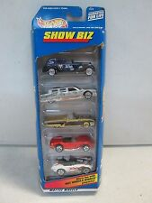 Hot Wheels 5 Car Gift Pack Show Biz w lowrider