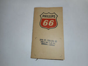 Vintage Phillips 66 Sewing Kit Anderson, Indiana