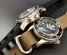 Steel Divers 300m 🇬🇧 Watch 41mm Japan NH35 Automatic Mov 2 Straps Boxed
