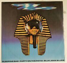 "ZZ Top Sleeping Bag Maxisingle 12"" UK 1985"