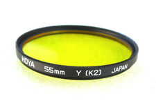 55mm Hoya K2 YELLOW - B&W Contrast Filter - PERFECT LN