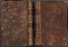 ŒUVRES d'HORACE Traduction par M. René BINET Éd COLAS 1809 T1 & T2 Livre Complet