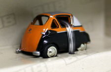 BUB 1/87 Tiny Scale - 05902 BMW Isetta Standard Orange Diecast Model car