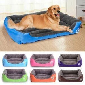 Pet Cat Dog Bed 8Colors Warm Cozy Dog House Soft Fleece Nest Dog Baskets House