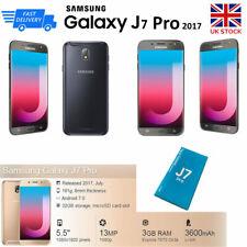 NEW Samsung Galaxy J7 Pro Cam 13MP RAM 3GB Memory 32GB Unlocked Smartphone Black