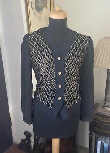 Vintage Matallic 1980/ 90s Womens Shirt