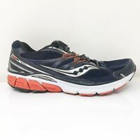 Saucony Mens Omni 14 S20270-2 Blue Black Running Shoes Lace Up Low Top Size 9
