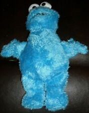 Fisher Price Sesame Street COOKIE MONSTER 9 inch BLUE Plush