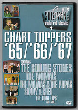 DVD / ED SULLIVAN'S ROCK'N'ROLL CHART TOPPERS 65-66-67  (MUSIQUE CONCERT)