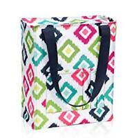 New Thirty One Tall Organizing zip top Utility tote bag 31 gift in Candy Corners