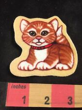 Felt KITTY CAT Patch (Soft Feel...not 100% Sure It's A Patch...Patch-ish?) 00O1