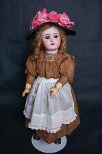 "Sale Antique German Bisque Simon & Halbig Bergman 24"" Doll"