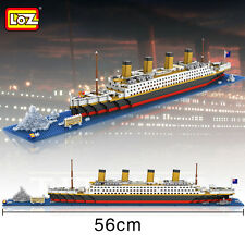 Nano Micro Building Block Real Hobby series Titanic Loz Diamond Blocks Gift 9389