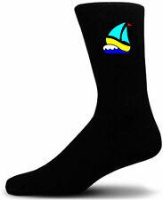 Fluorescente Velero-Negro Novedad calcetines-Especial calcetines | Regalo Perfecto